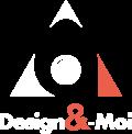 Logo DM V2 blanc M